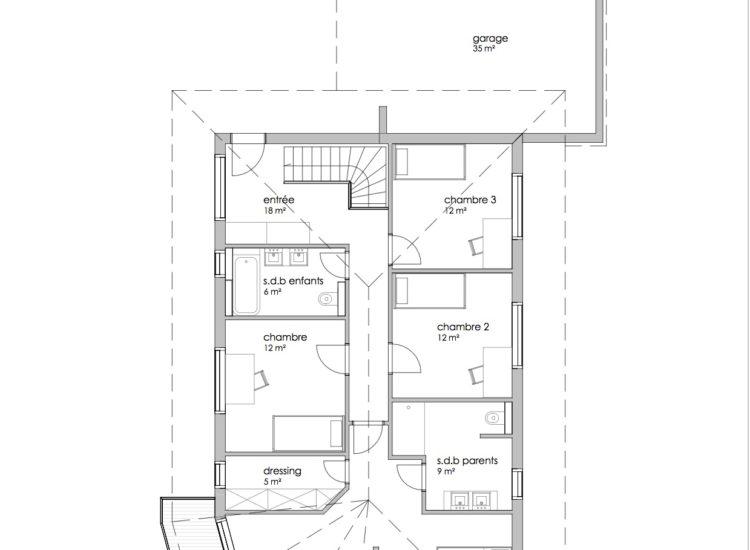 Etage Ferme Lemuids Villa2